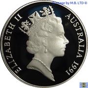 10 Dollars - Elizabeth II (3rd Portrait - Tasmania) -  obverse