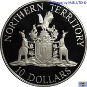 10 Dollars - Elizabeth II (3rd Portrait - Northern Territory) -  reverse