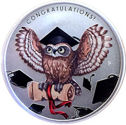 1 Dollar (graduation) -  reverse