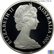 2 Cents - Elizabeth II (2nd portrait - Fine Silver Proof) -  obverse