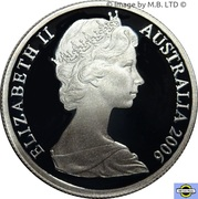 5 Cent - Elizabeth II (2nd portrait, Silver Proof) -  obverse