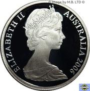 5 Cent - Elizabeth II (2nd portrait, Silver Proof) -  obverse