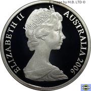 10 Cent - Elizabeth II (2nd portrait, Silver Proof) -  obverse