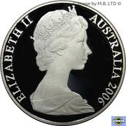 50 Cent - Elizabeth II (2nd portrait, Silver Proof) -  obverse