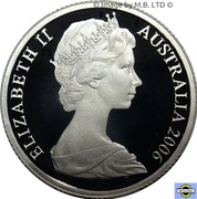 1 Dollar - Elizabeth II (2nd Portrait - Fine Silver Proof) -  obverse