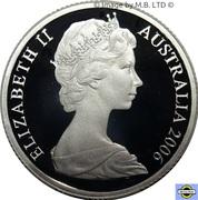 1 Dollar - Elizabeth II (2nd Portrait - Mob of Roos - Silver Proof) -  obverse
