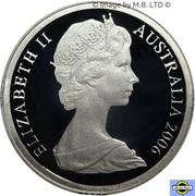 2 Dollars - Elizabeth II (2nd portrait, Silver Proof) -  obverse