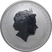 1 Dollar - Elizabeth II (Year of the Dog) – obverse