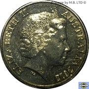 1 Dollar - Elizabeth II (4th Portrait - Australian Mens Open) -  obverse