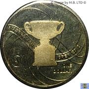 1 Dollar - Elizabeth II (4th Portrait - Australian Mens Open) -  reverse