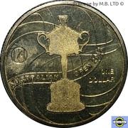 1 Dollar - Elizabeth II (4th Portrait - Australian Womens Open) -  reverse
