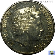 1 Dollar - Elizabeth II (4th Portrait - Year of the Co-Operatives) -  obverse