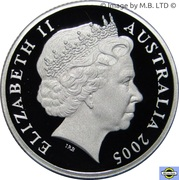 20 Cents - Elizabeth II (4th Portrait - Coming Home - End of WWII - Silver Proof) -  obverse