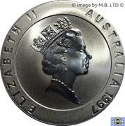 10 Dollars Elizabeth II (3rd Portrait - Sydney Opera House) – obverse