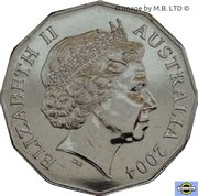 50 Cents - Elizabeth II (4th Portrait - Student Design) -  obverse