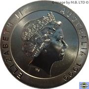 10 Dollars - Elizabeth II (4th Portrait - Snowy Mountains Alpine Lake) -  obverse