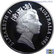 10 Dollars -  Elizabeth II (3rd Portrait - Victoria) -  obverse