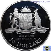 10 Dollars - Elizabeth II (3rd Portrait - New South Wales) -  reverse