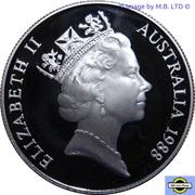 10 Dollars - Elizabeth II (3rd Portrait - First Fleet) -  obverse