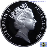 10 Dollars - Elizabeth II (3rd Portrait - Queensland) -  obverse