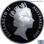 10 Dollars - Elizabeth II (3rd Portrait - Australian Capital Territory) -  obverse