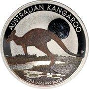 50 Cents - Elizabeth II (4th Portrait - Australian Outback Kangaroo) -  reverse