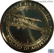 1 Dollar - Elizabeth II (4th Portrait - The Great Air Race - Martinsyde A1) -  reverse