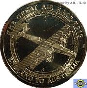 1 Dollar - Elizabeth II (4th Portrait - The Great Air Race - Blackburn Kangaroo) -  reverse