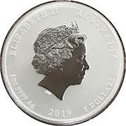 8 Dollars - Elizabeth II (4th Portrait - Year of the Pig) -  obverse
