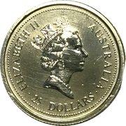 25 Dollars - Elizabeth II (3rd Portrait - Koala - Platinum Bullion Coin) -  obverse