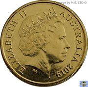 2 Dollars - Elizabeth II (4th Portrait - Rugby World cup) – obverse
