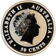 50 Cents - Elizabeth II (Australian Koala) -  obverse