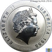 10 Dollars - Elizabeth II (4th Portrait - Melbourne Cricket Ground) – obverse