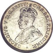 3 Pence - George V -  obverse