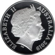 1 Dollar - Elizabeth II (4th Portrait - Moon Landing ) -  obverse