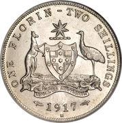 1 Florin - George V -  reverse