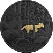 5 Dollars - Elizabeth II (4th Portrait - Tasmanian Tiger) -  reverse