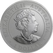 1 Dollar - Elizabeth II (6th Portrait - Super Pit) -  obverse