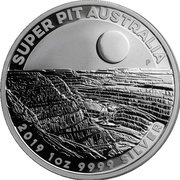 1 Dollar - Elizabeth II (6th Portrait - Super Pit) -  reverse