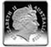 25 Cents - Elizabeth II (4th Portrait - Kookaburra 1920 Pattern) -  obverse