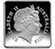 25 Cents - Elizabeth II (4th Portrait - Kookaburra 1921 Pattern) -  obverse
