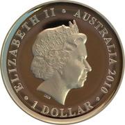 1 Dollar - Elizabeth II (4th Portrait - Sydney Cove Medallion) -  obverse