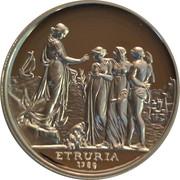 1 Dollar - Elizabeth II (4th Portrait - Sydney Cove Medallion) -  reverse