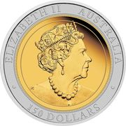 150 Dollars - Elizabeth II (6th Portrait - Australian Wedge-Tailed Eagle) -  obverse