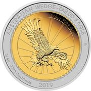 150 Dollars - Elizabeth II (6th Portrait - Australian Wedge-Tailed Eagle) -  reverse