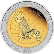 150 Dollars - Elizabeth II (6th Portrait - Australian Wedge-Tailed Eagle) -  reverse