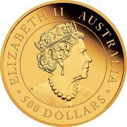 500 Dollars - Elizabeth II (6th Portrait - Koala) -  obverse