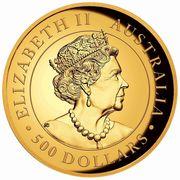 500 Dollars - Elizabeth II (6th Portrait - Australian Wedge-Tailed Eagle) -  obverse