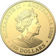 100 Dollars - Elizabeth II (6th Portrait - Redback Spider) -  obverse