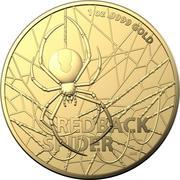 100 Dollars - Elizabeth II (6th Portrait - Redback Spider) -  reverse